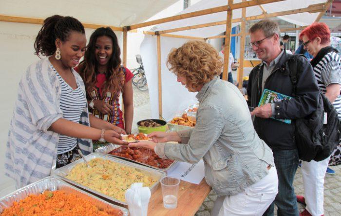 Willkommensfest für Flüchtlinge in Potsdam