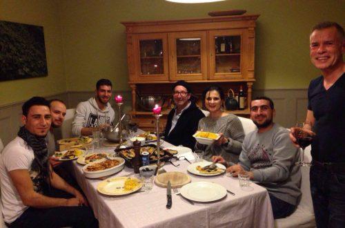 Welcome Dinner Potsdam