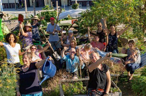 Studis + Nachbarschaft = Campusgarten