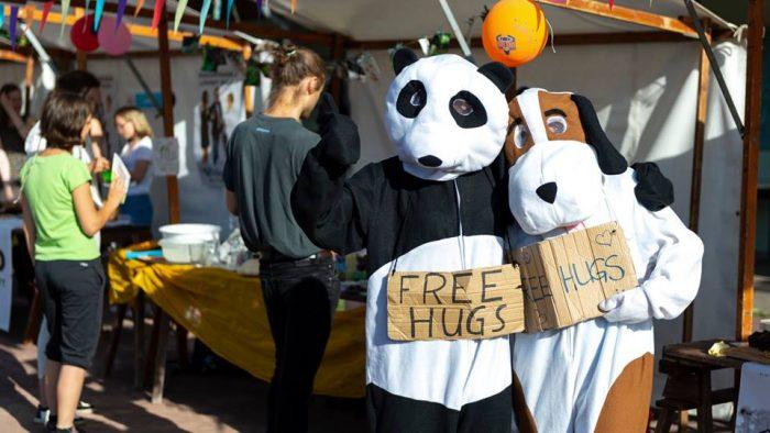 Free Hugs for Potsdam