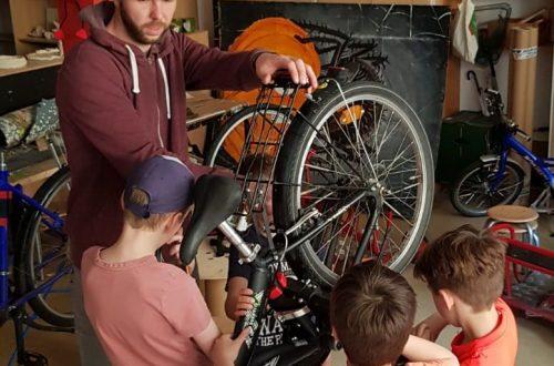 Das ist ja abgefahren! – Die IG Fahrradwerkstatt der Neuen Grundschule Potsdam