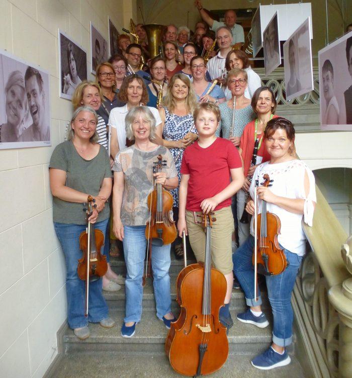Noten für das Kiezorchester Babelsberg