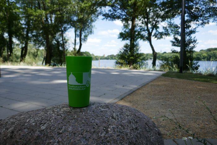 As green as possible – Trinkbecherprojekt Schlösserlauf