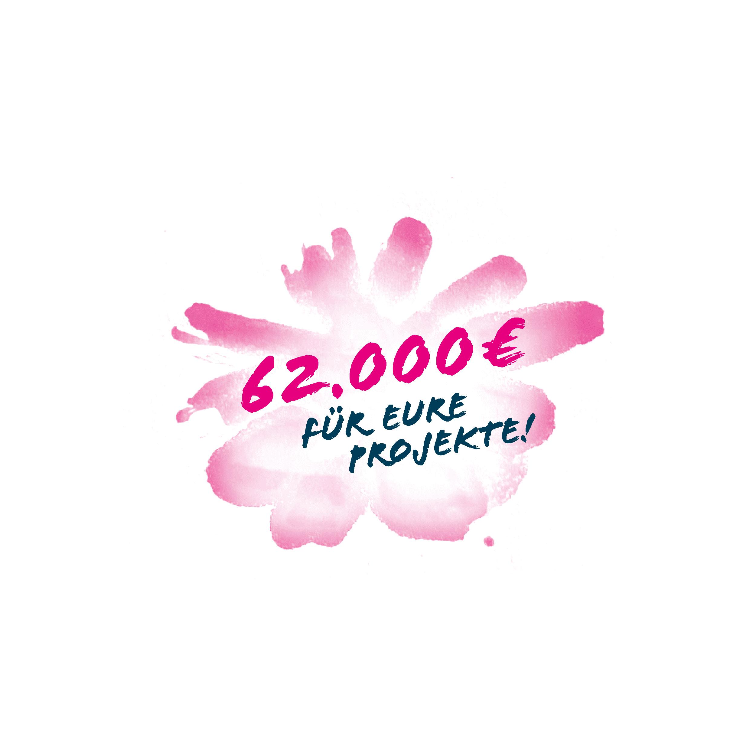 62.000 € für eure Projekte